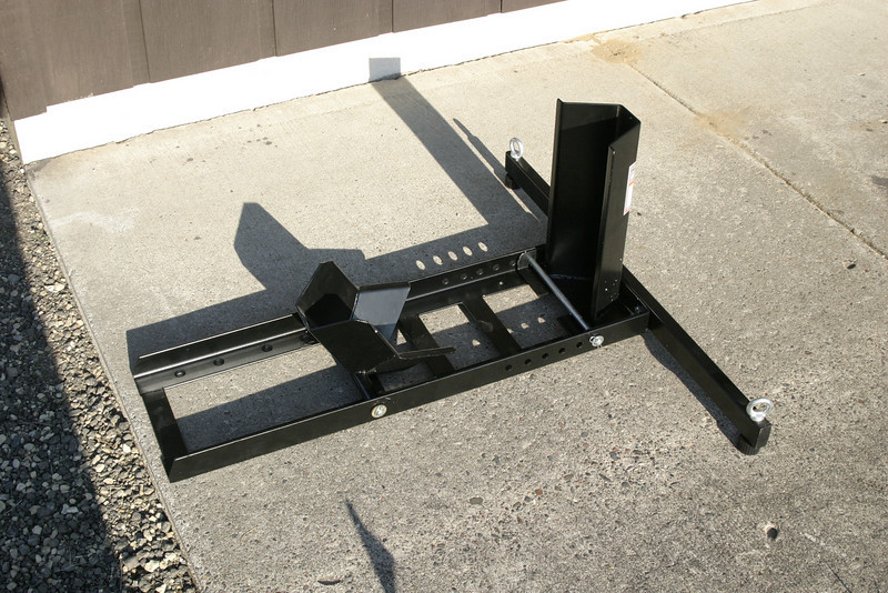 harbor freight motorcycle stand chock w pics adventure rider